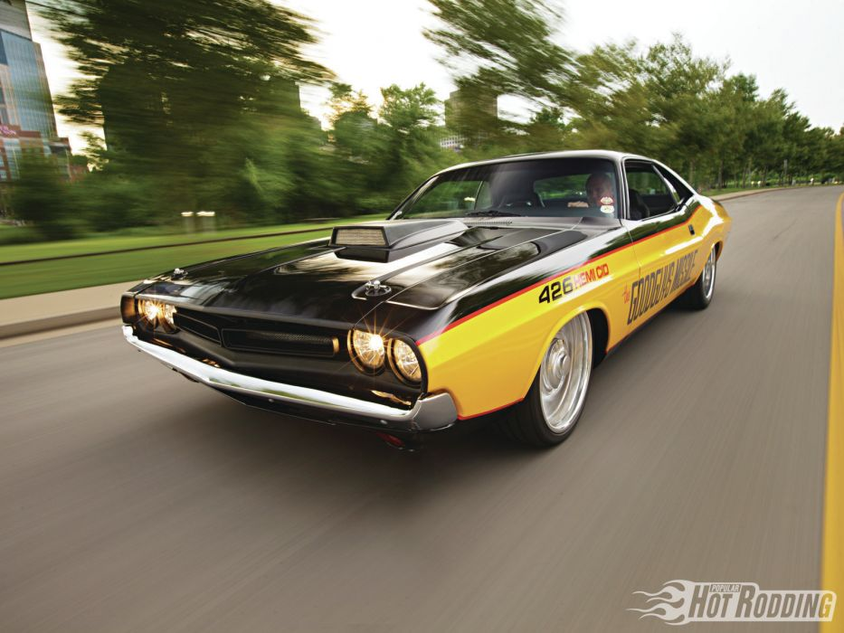 1971 Dodge Challenger 426 Hemi muscle Cars hot rods (1) wallpaper