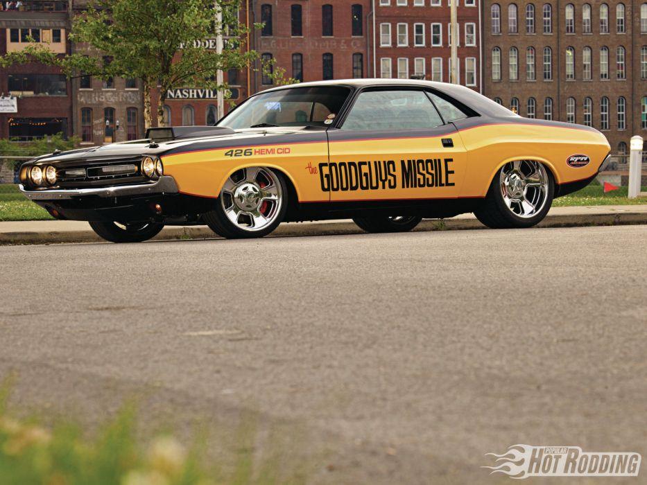 1971 Dodge Challenger 426 Hemi muscle Cars hot rods (45) wallpaper