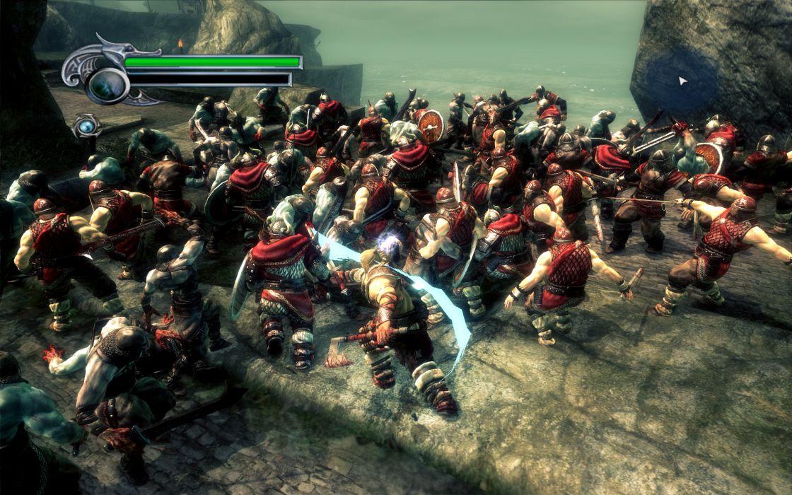 Viking Battle for Asgard video fantasy warrior battle weapons   f wallpaper