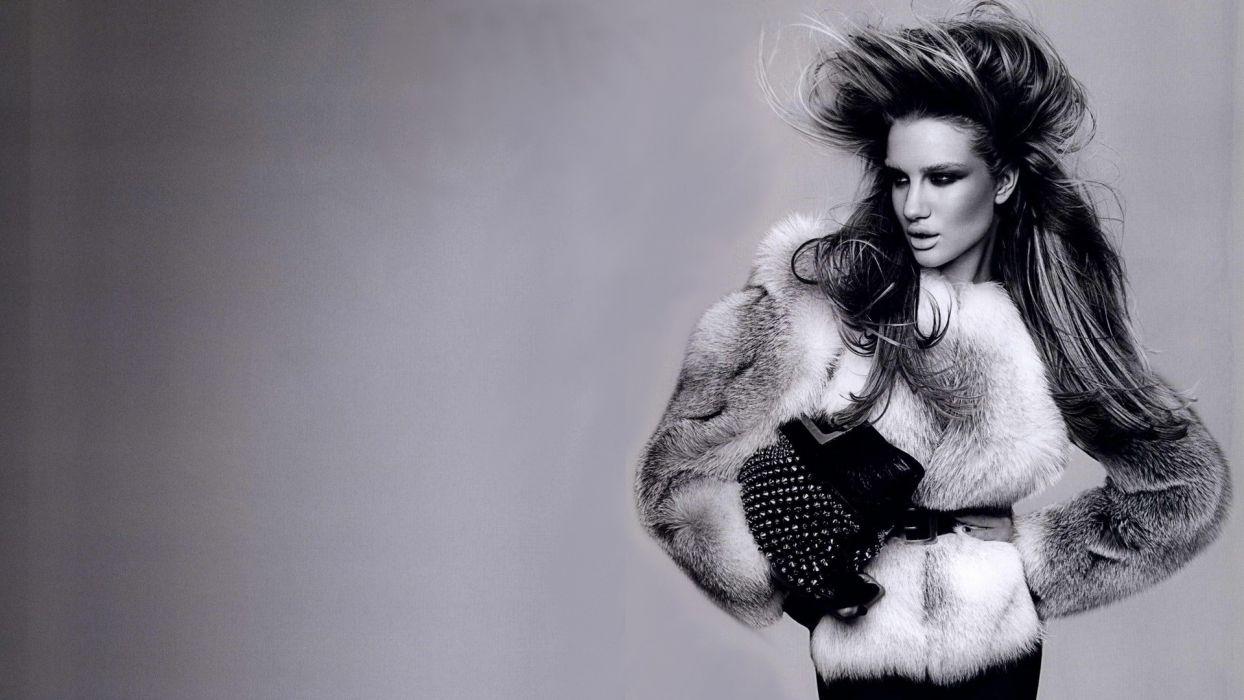 Rosie Huntington Whiteley women females fashion models glamour blondes sexy babes      u wallpaper