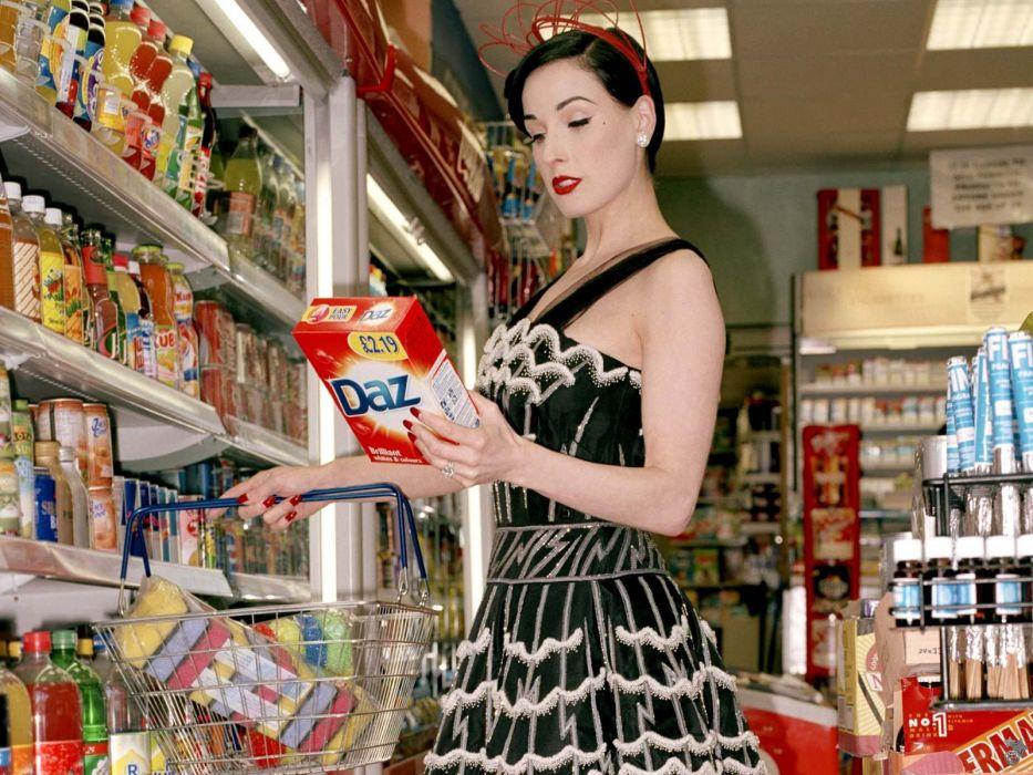 Dita von Teese burlesque dancer model costume designer actress glam women sexy babes females          x wallpaper