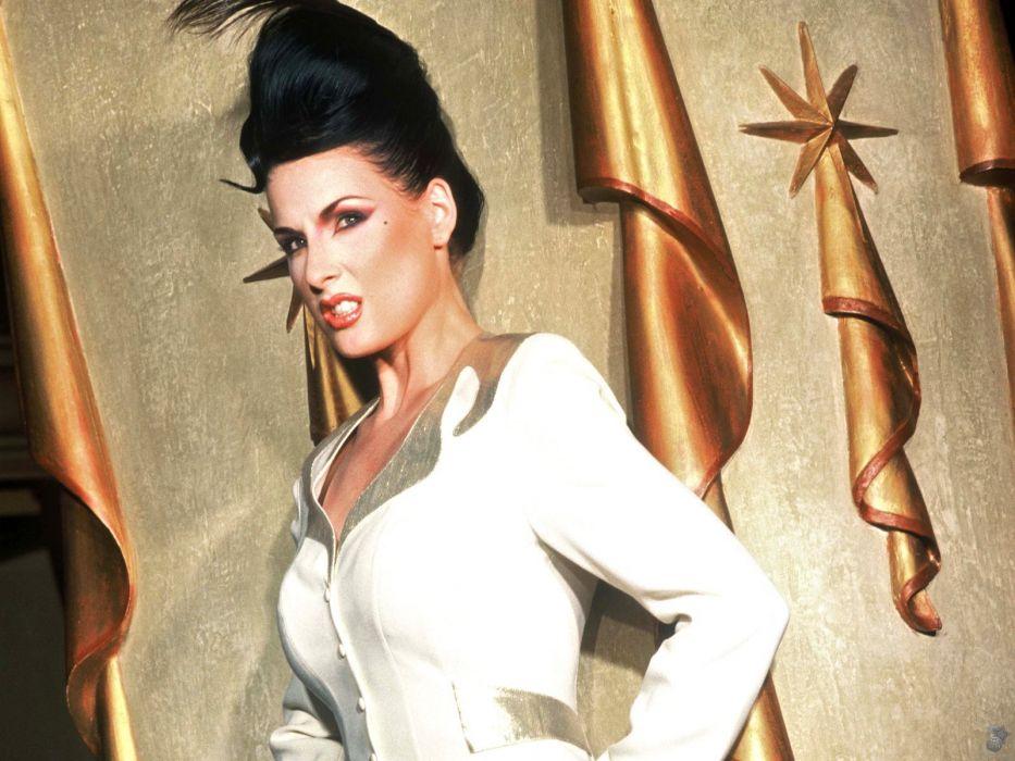 Dita von Teese burlesque dancer model costume designer actress glam women sexy babes females        d wallpaper