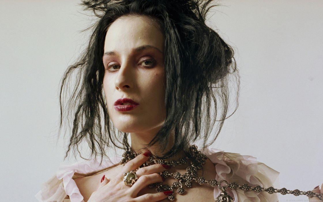 Dita von Teese burlesque dancer model costume designer actress glam women sexy babes females      t wallpaper