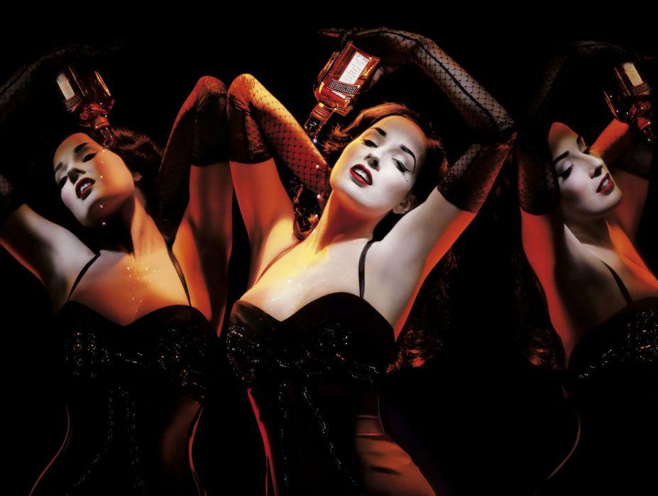 Dita von Teese burlesque dancermodelcostume designer actress glam women sexy babes females       w wallpaper