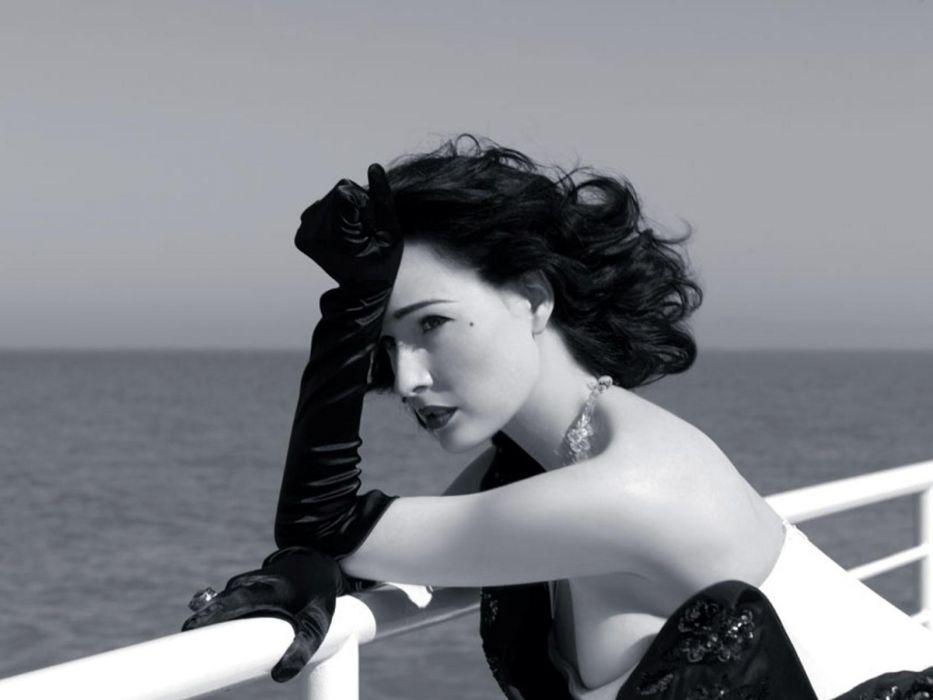Dita von Teese burlesque dancer model costume designer actress glam women sexy babes females       g wallpaper