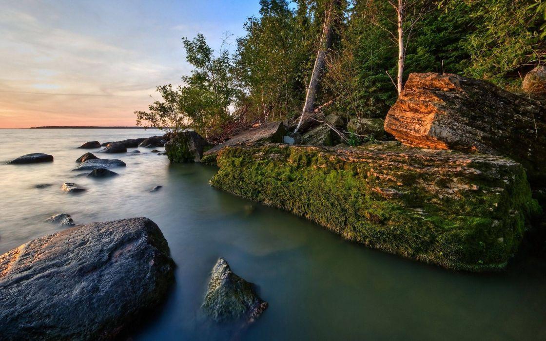 water sea nature wallpaper
