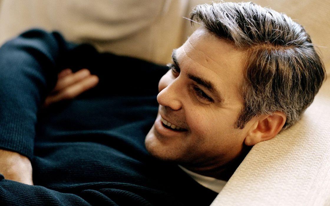 George Clooney people actors guys  wallpaper