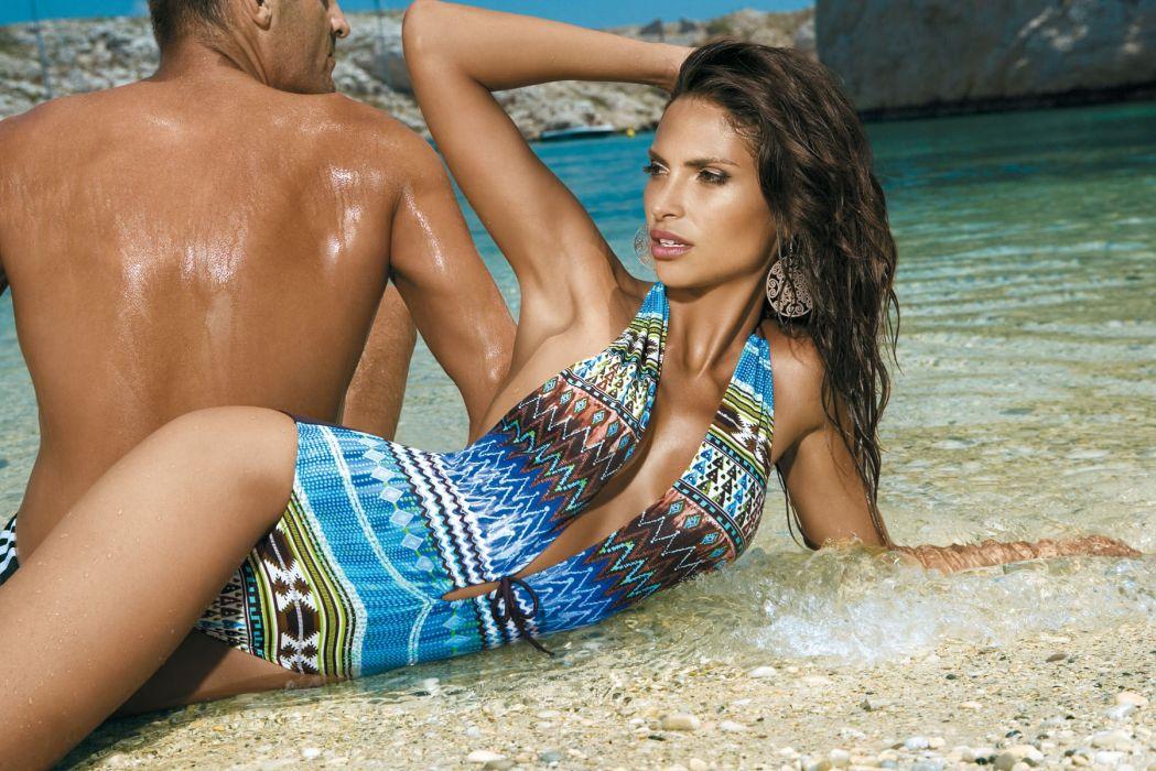 Camila Morais Brazilian Lingerie Model women females brunettes sexy babes        e wallpaper