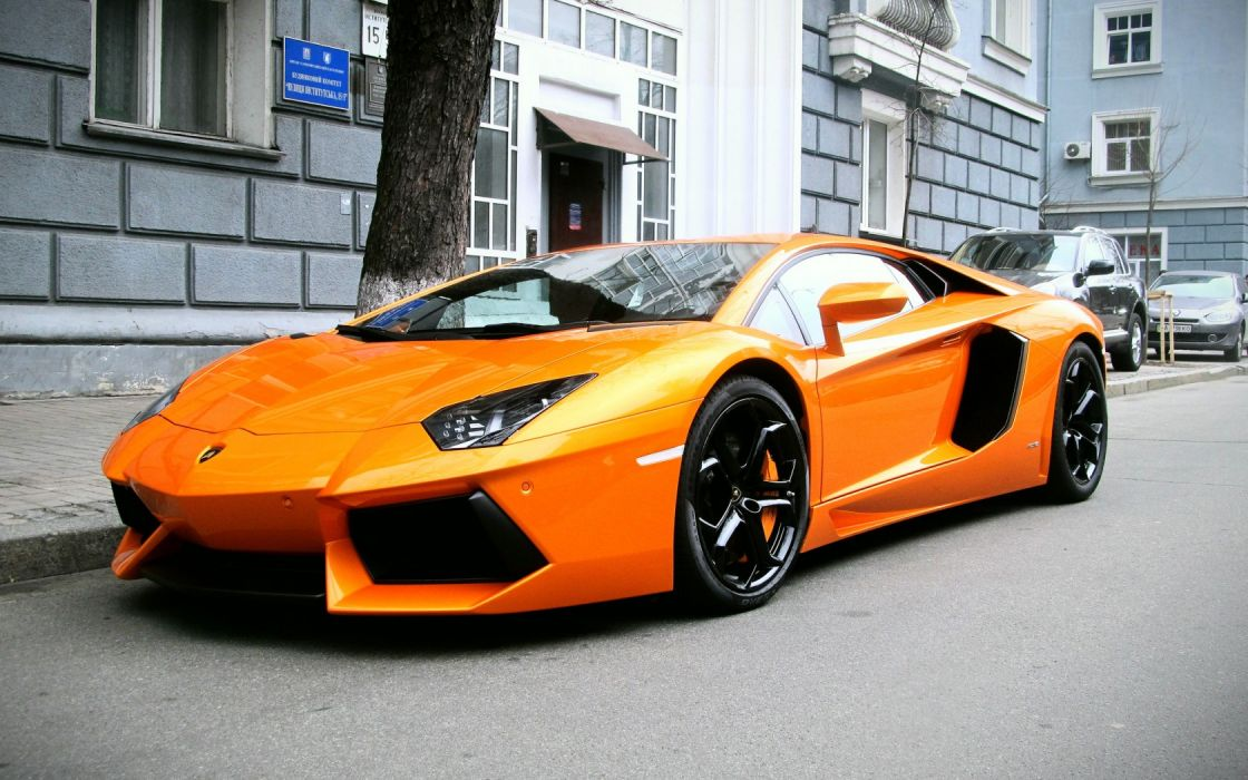 Lamborghini Aventador Orange >> Lamborghini Aventador Lp 700 4 Supercars Orange Wallpaper