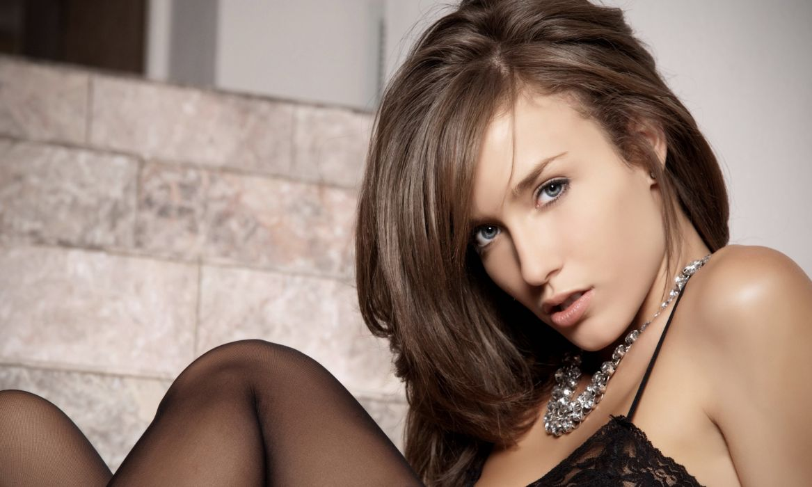 Malena Morgan adult women females models actress brunettes sexy babes face eyes pov       f wallpaper