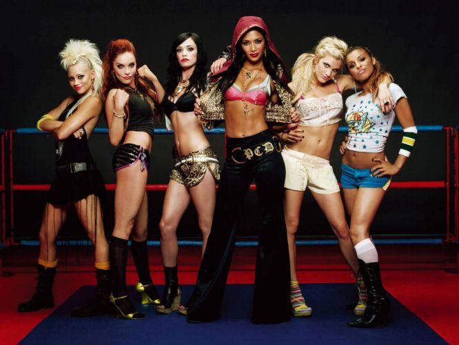 Pussycat Dolls groups pop women singers musician blondes brunettes sexy babes females r wallpaper