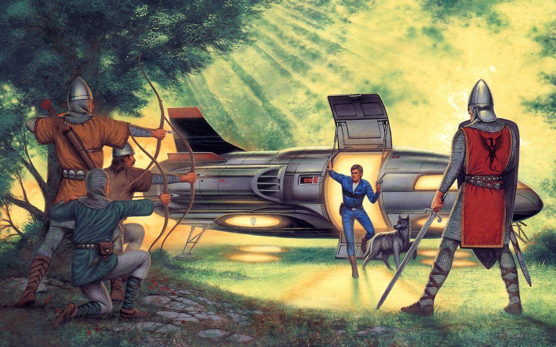 The Orc Wars-The Yngling Saga sci-fi fanyasy spaceship spacecraft futuristic wallpaper