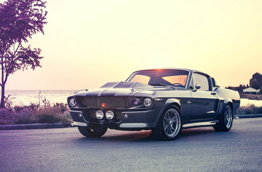 ford mustang eleanor shelby gt500e muscle cars wallpaper