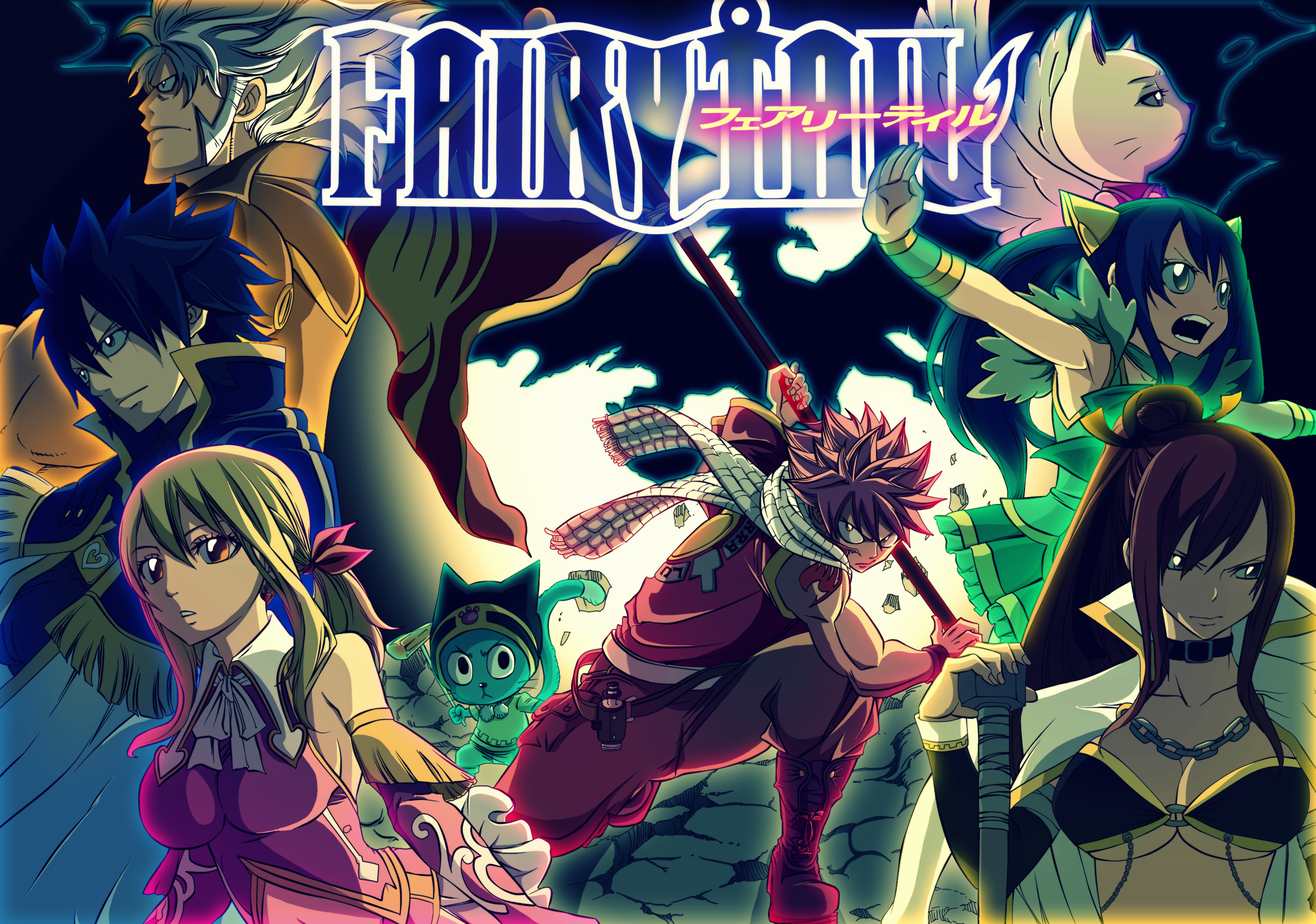 Fairy Tail Ultimate Wizard Challange Wallpaper 3000x2108 42066