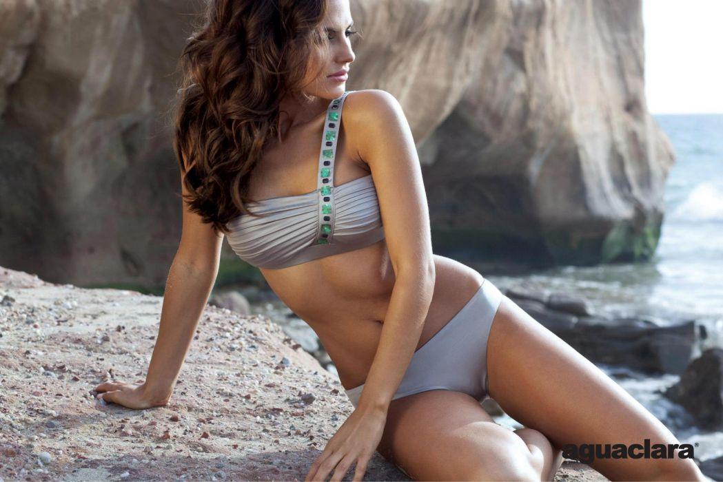 Diana Morales women females fashion glamour models brunettes sexy babes swimwear bikini          x wallpaper