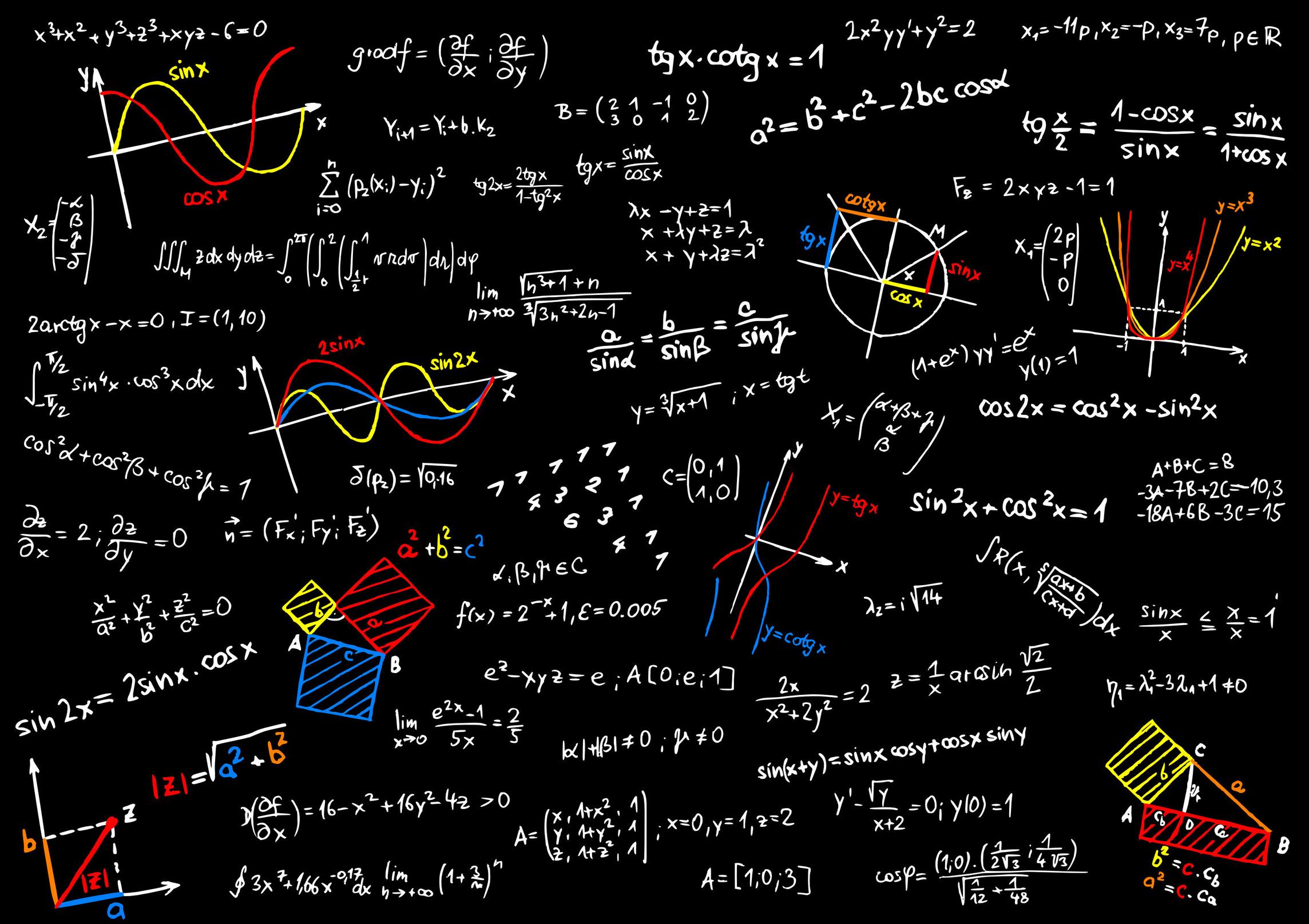 Math Equations wallpaper | 2288x1617 | 42404 | WallpaperUP