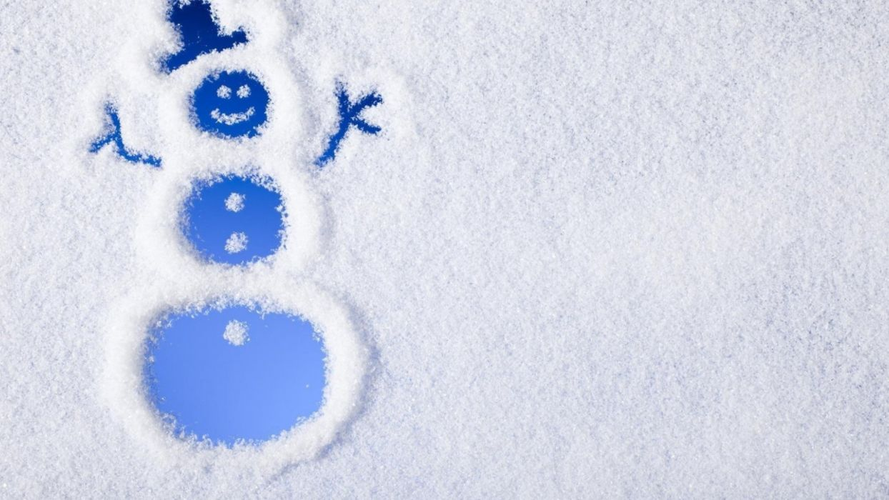 snow pattern texture Minimalism christmas glass snowman wallpaper