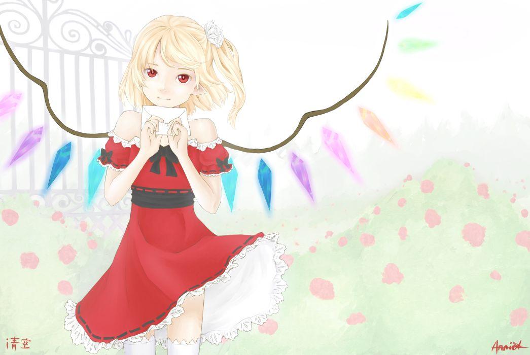 Touhou girl wallpaper