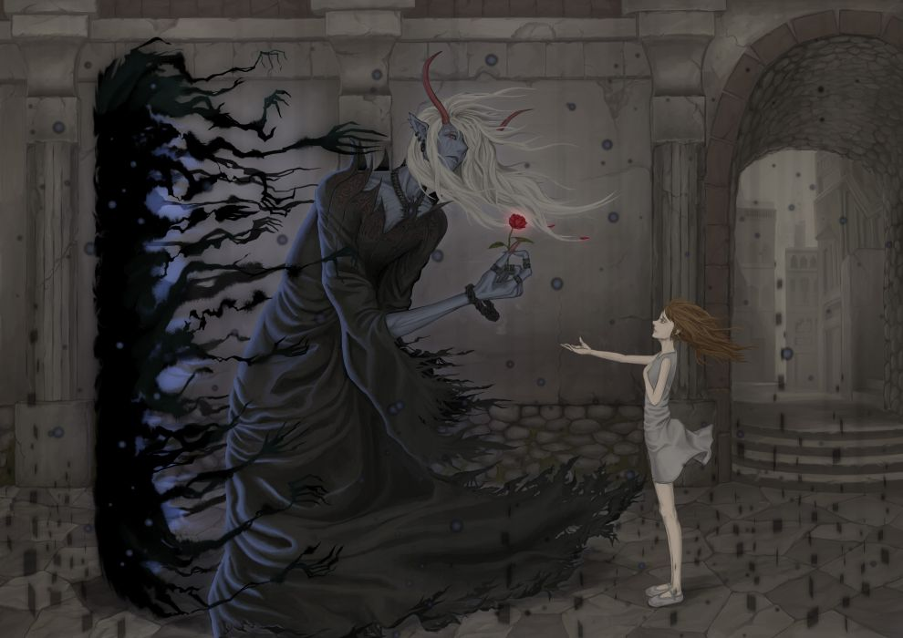 Pixiv-Id 5157000 original anime dark wallpaper