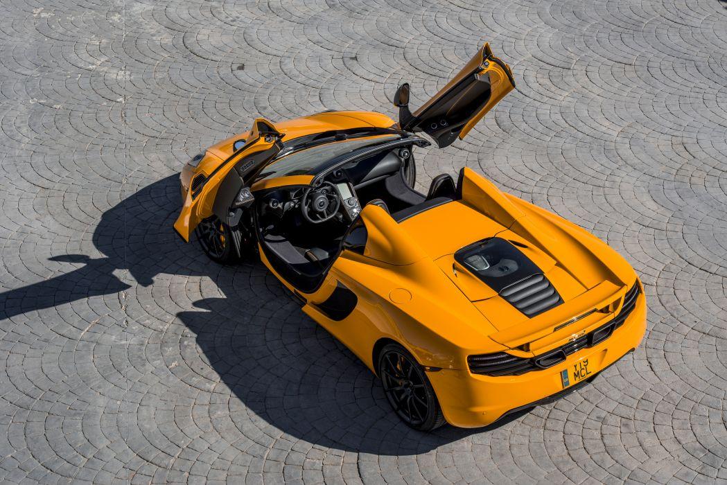 2013 McLaren 12C Spider supercar wallpaper