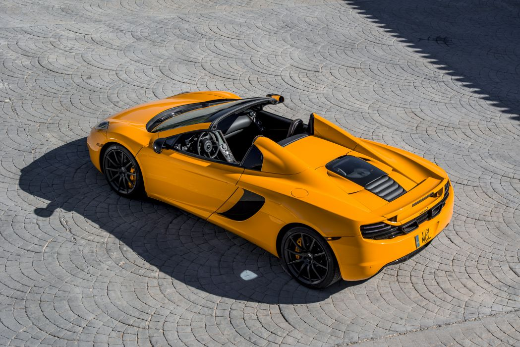 2013 McLaren 12C Spider supercar wallpaper