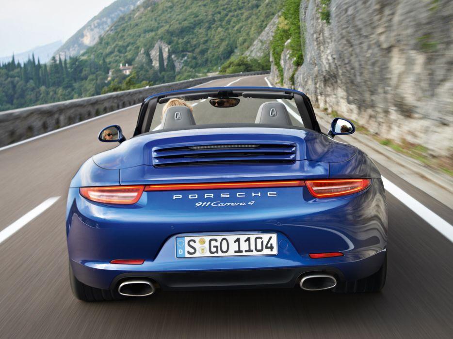 2013 Porsche 911 Carrera 4-4S sportcar wallpaper