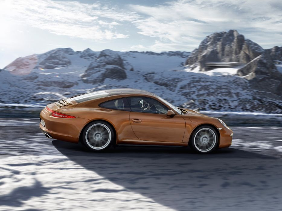 2013 Porsche 911 Carrera 4-4S sportcar wallpaper