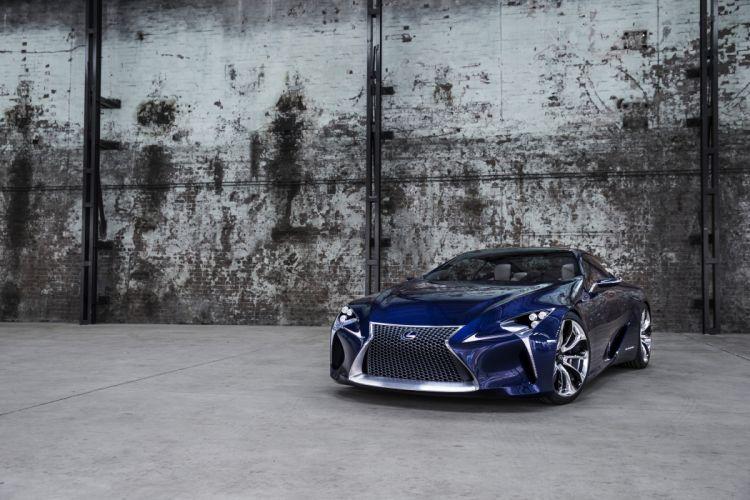Lexus LF-LC Concept supercar wallpaper