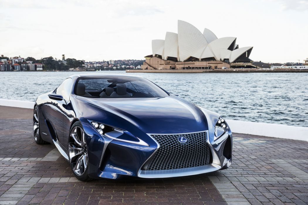 Lexus LF-LC Concept supercar wallpaper