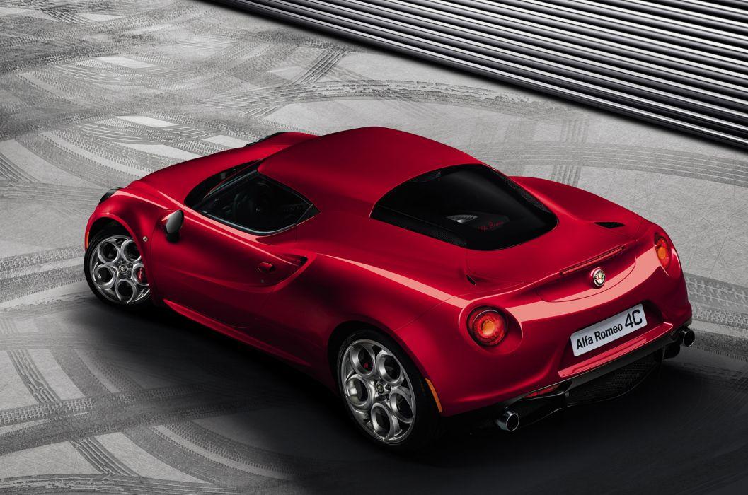 2014 Alfa Romeo sporctar red lights wallpaper