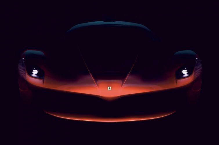 2014 Ferrari F15 supercar wallpaper