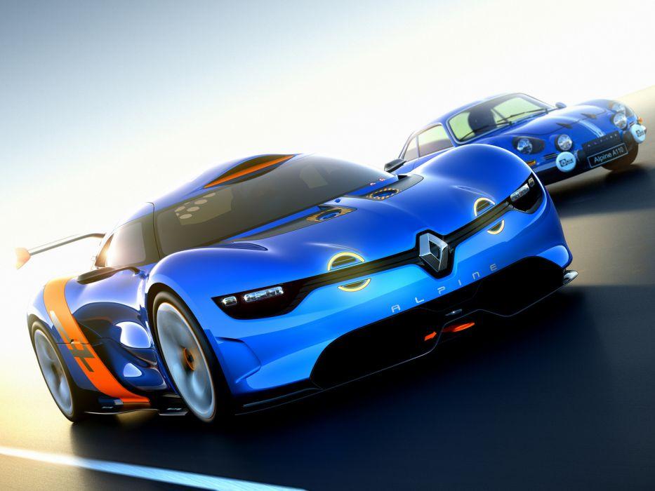 Renault Alpine A110-50 Concept supercar wallpaper