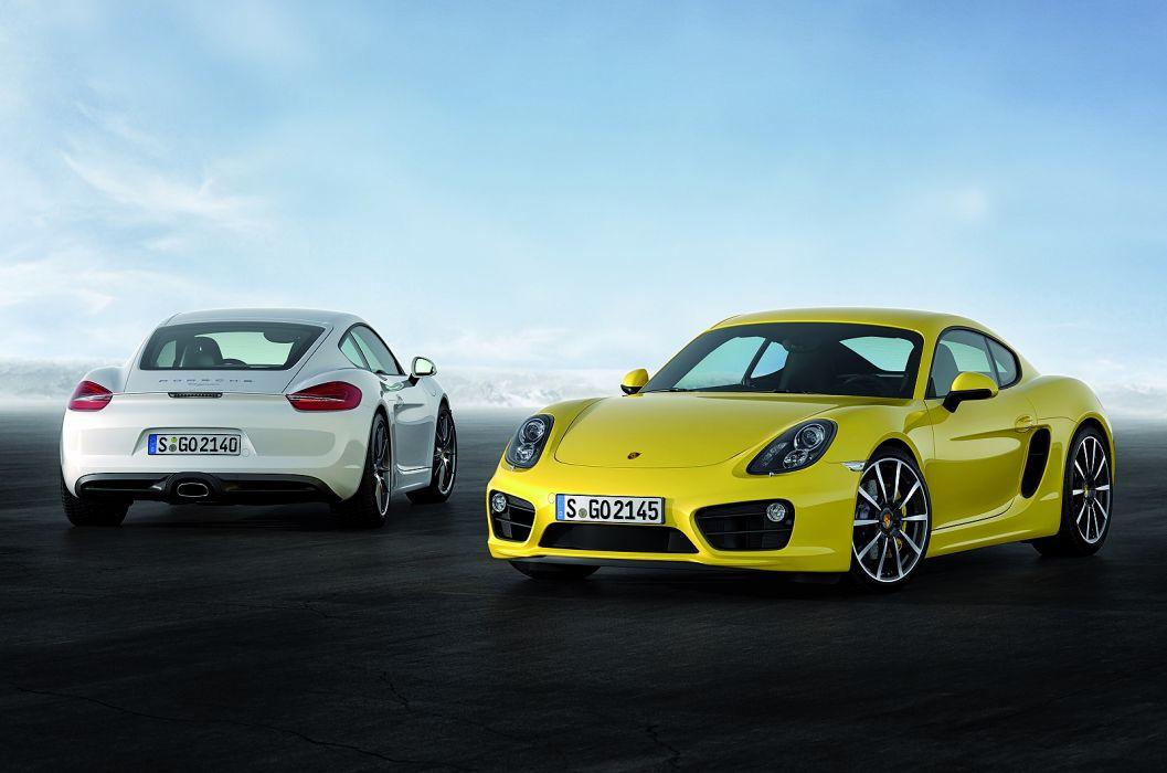 2013 Porsche Cayman sportcar wallpaper