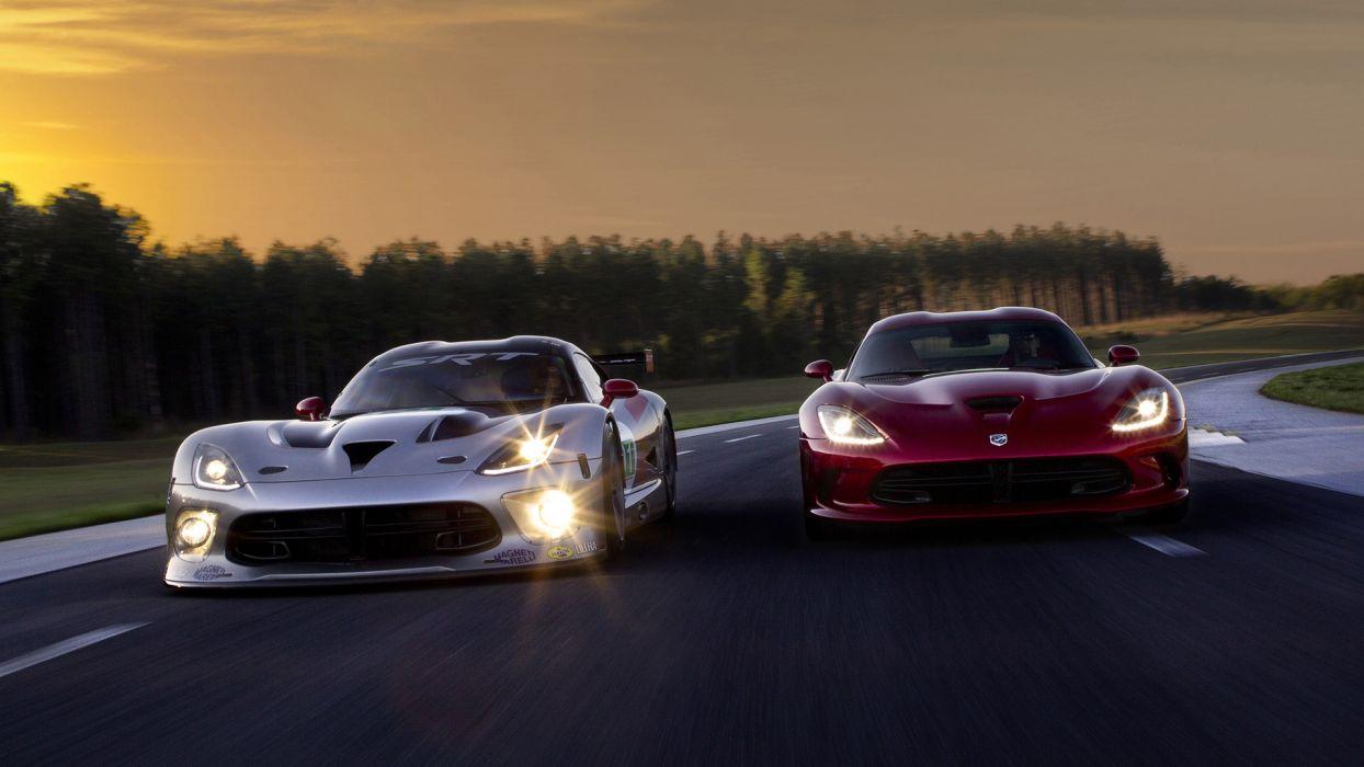 2013 SRT Viper GTS-R supercar race cars       r wallpaper