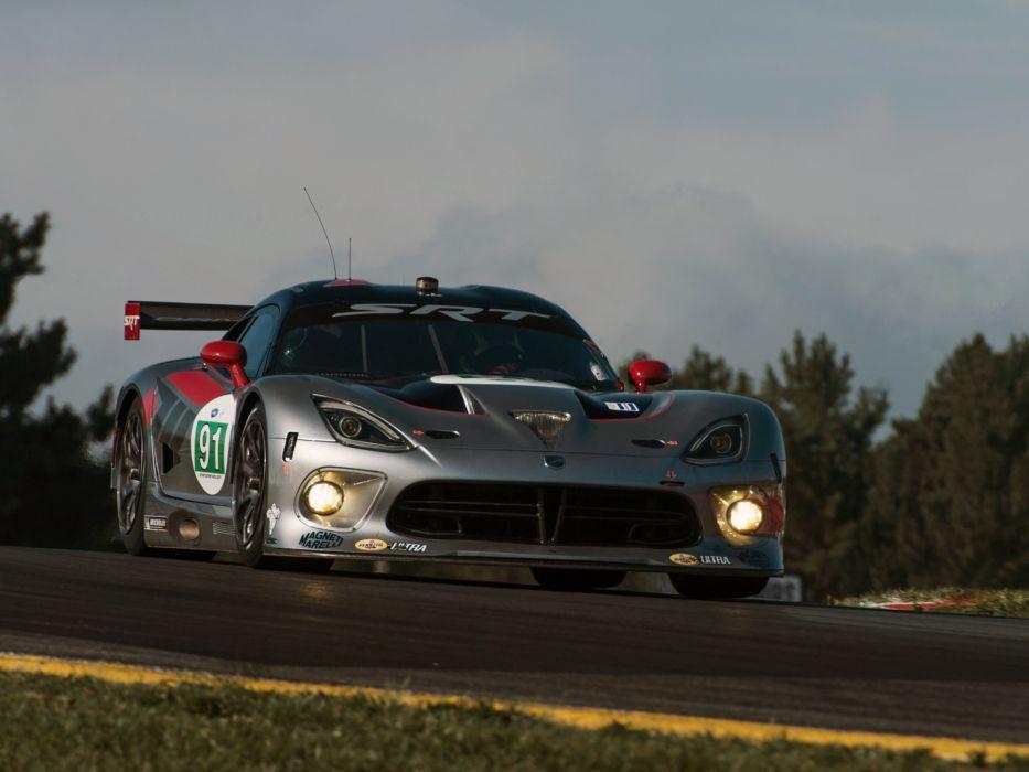 2013 SRT Viper GTS-R supercar race cars wallpaper