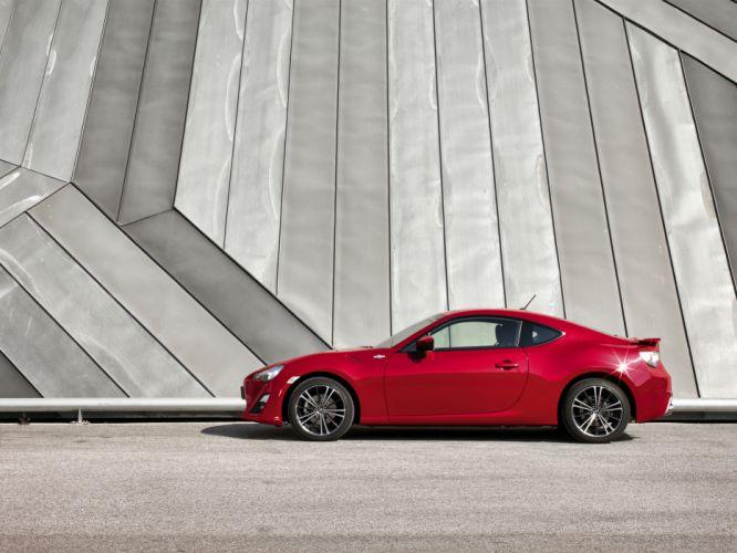 2013 Toyota GT86 sportcar red r wallpaper
