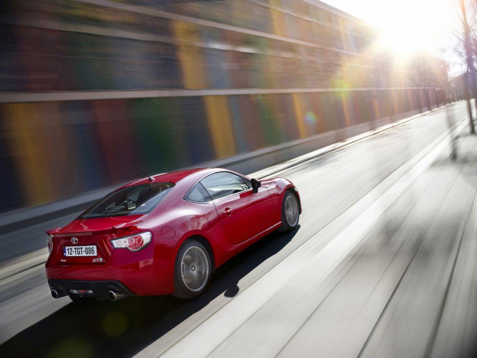 2013 Toyota GT86 sportcar red       t wallpaper