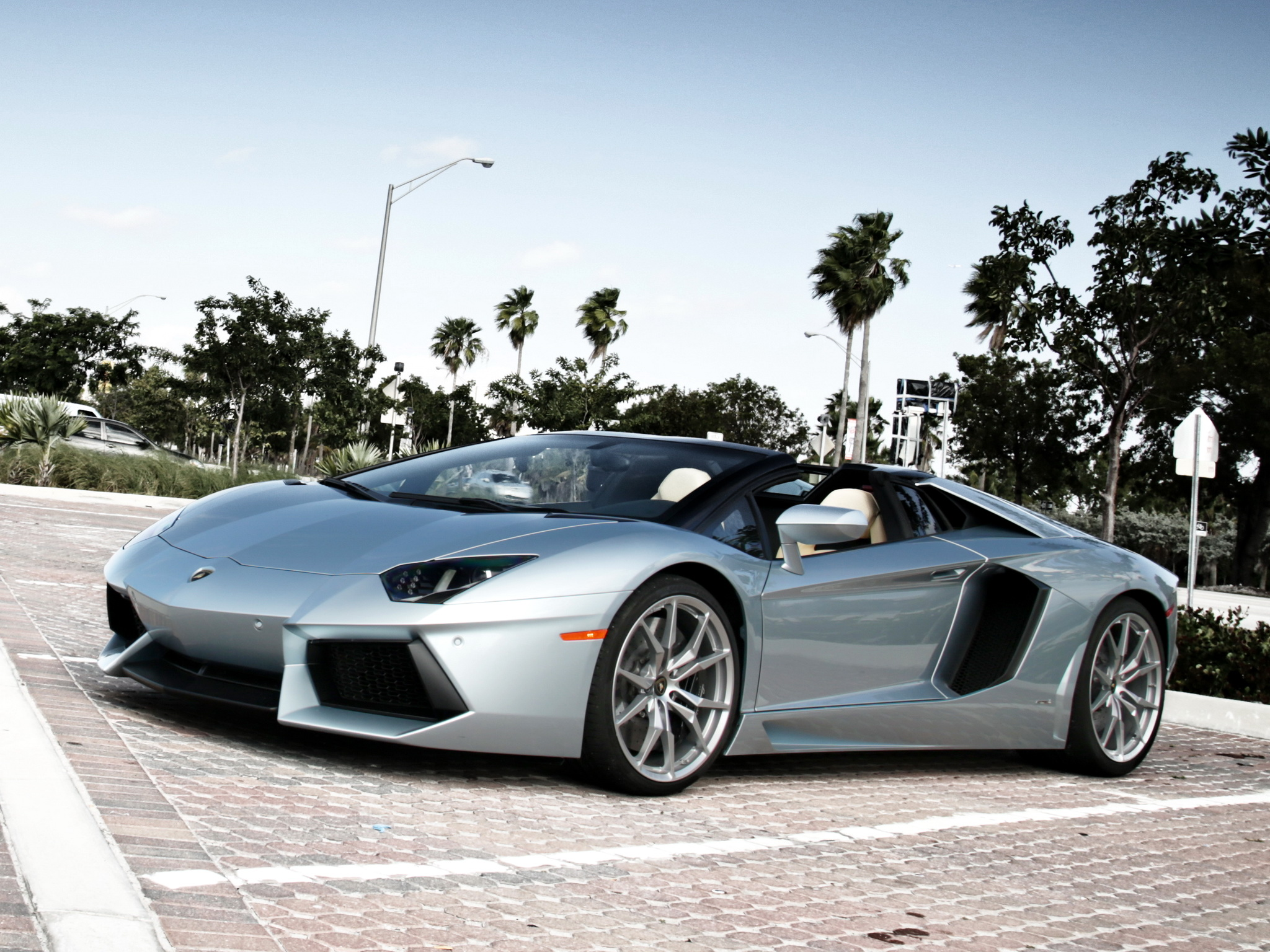 Lamborghini silver aventador photo recommend to wear in on every day in 2019