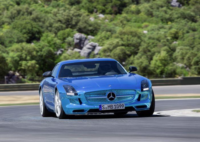 2014 Mercedes-Benz SLS AMG Coupe Electric Drive g wallpaper