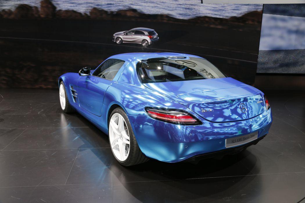 2014 Mercedes-Benz SLS AMG Coupe Electric Drive wallpaper
