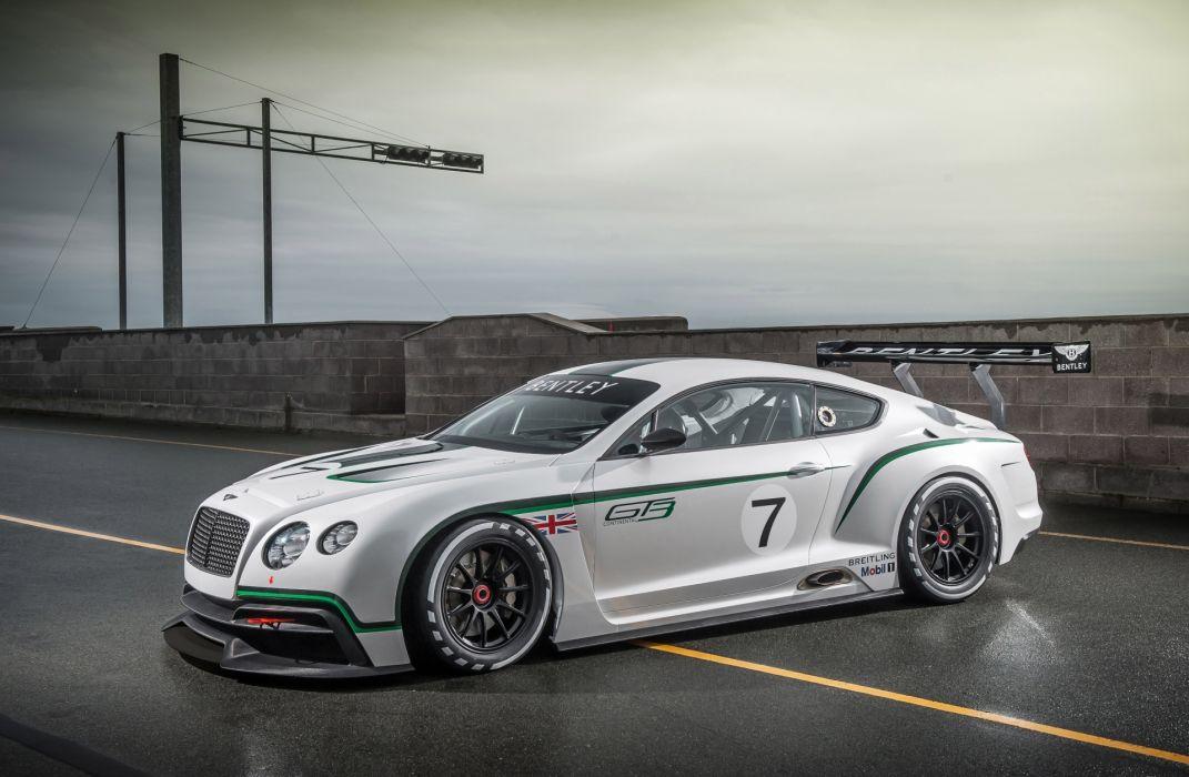 Bentley Continental GT3 Concept supercar tuning       e wallpaper