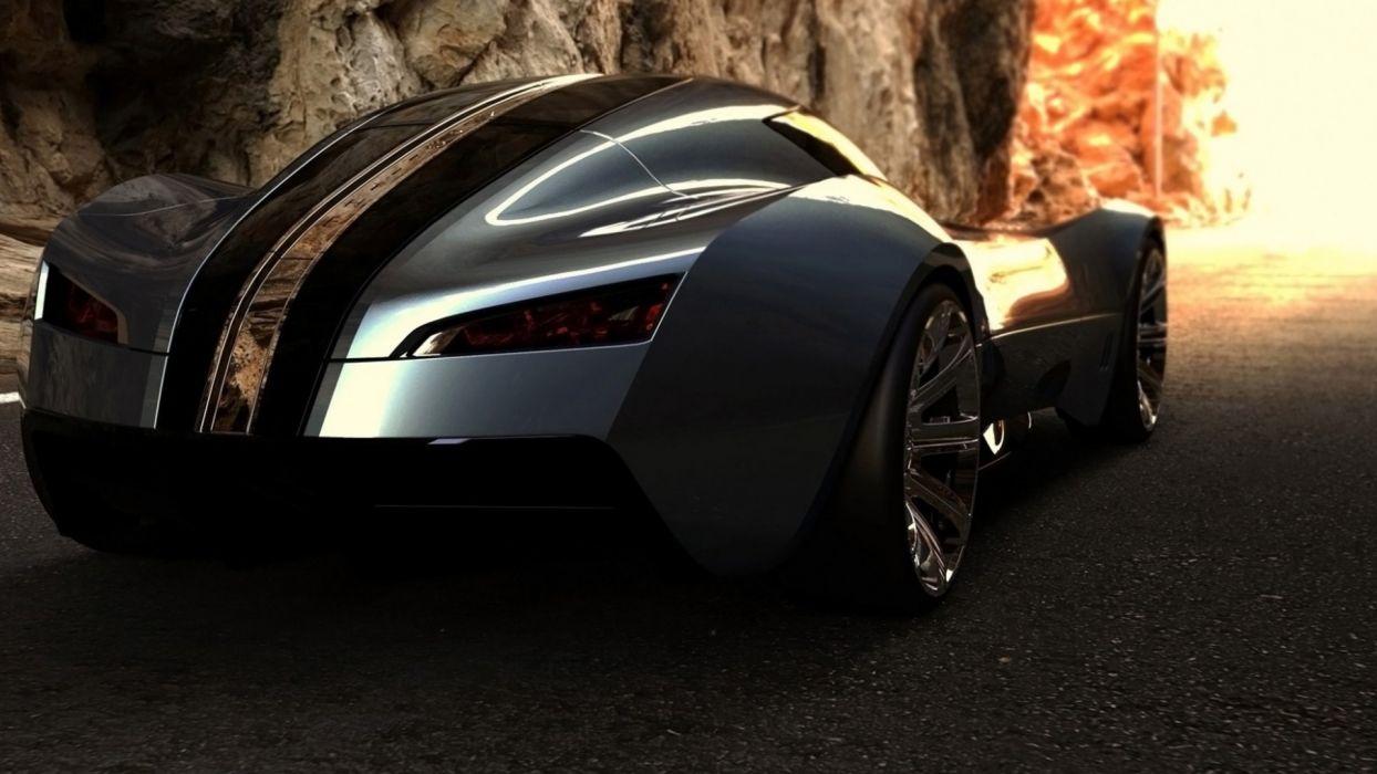 bugatti supercar concept wallpaper