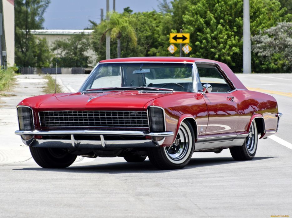 Buick Riviera GS 1965 luxury red classic wallpaper