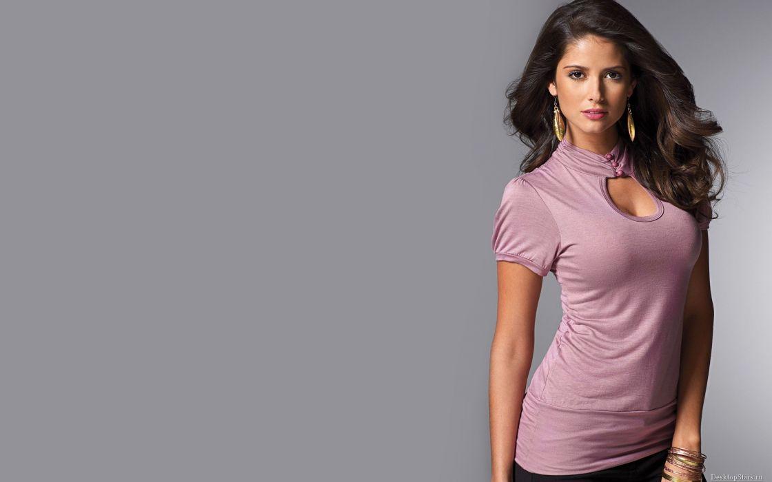 Carla Ossa women females fashion glamour models sexy babes brunettes           j wallpaper