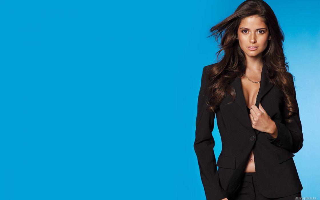 Carla Ossa women females fashion glamour models sexy babes brunettes         m wallpaper