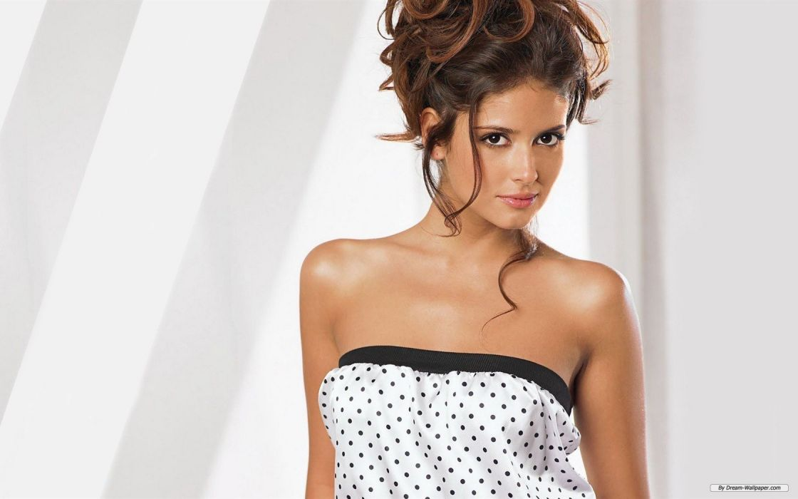 Carla Ossa women females fashion glamour models sexy babes brunettes wallpaper