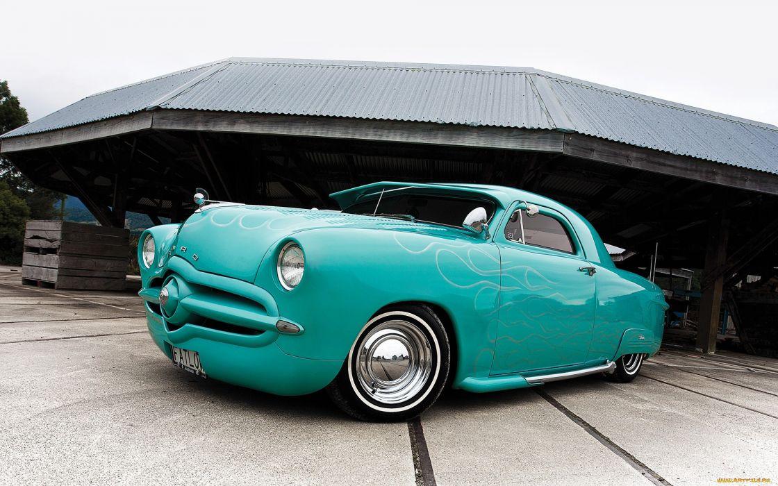Ford lowrider custom tuning retro classic wallpaper