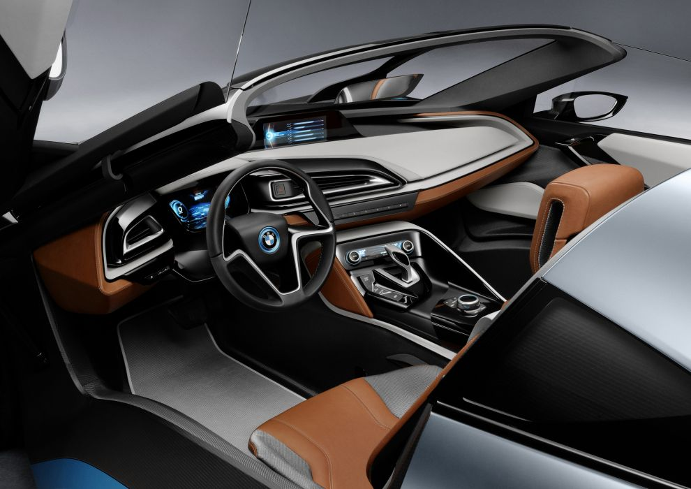 BMW Spyder Concept sportcar      q wallpaper