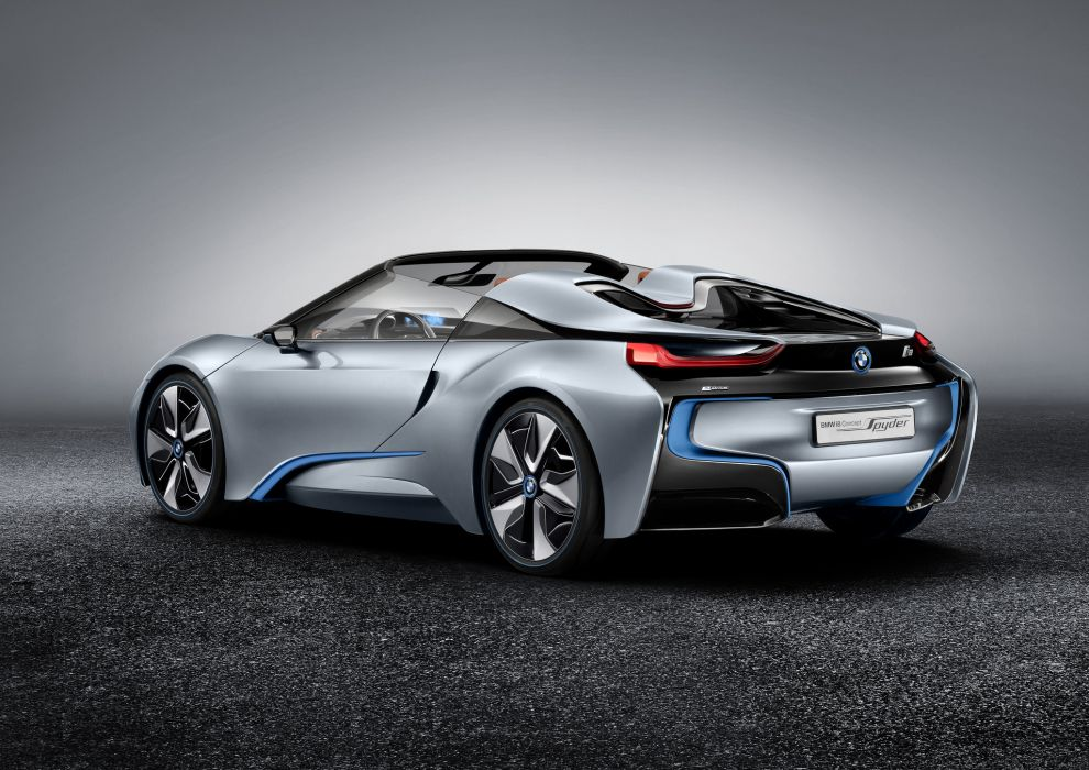 BMW Spyder Concept sportcar      w wallpaper