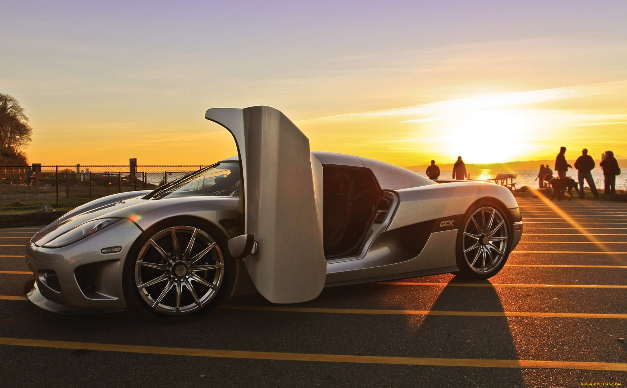 Koenigsegg Ccx Supercar Silver Wallpaper